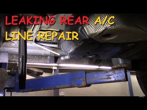 Leaking Rear A/C Line Repair - Dodge Durango