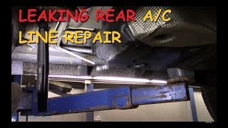 Leaking Rear A/C Line Repair - Dodge Durango