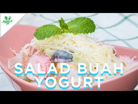 Resep Salad Buah Yogurt