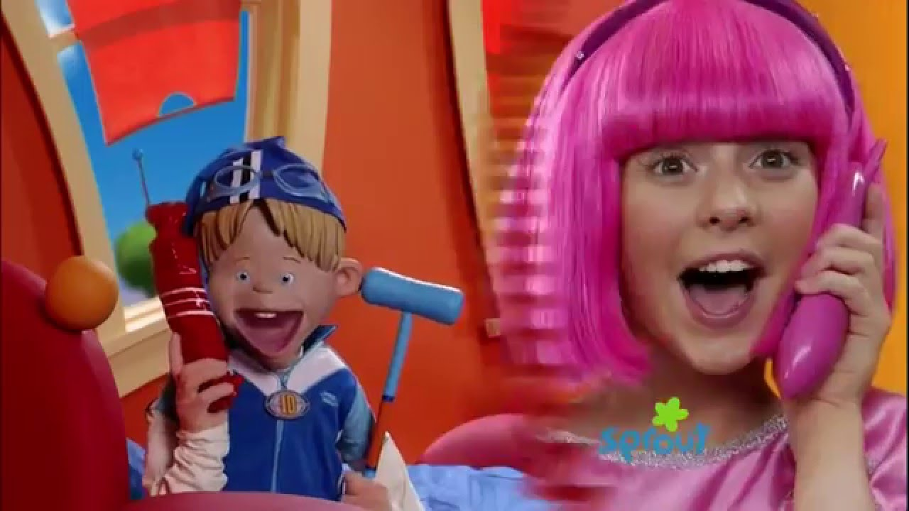 About taking lazy town stephanie nude too
