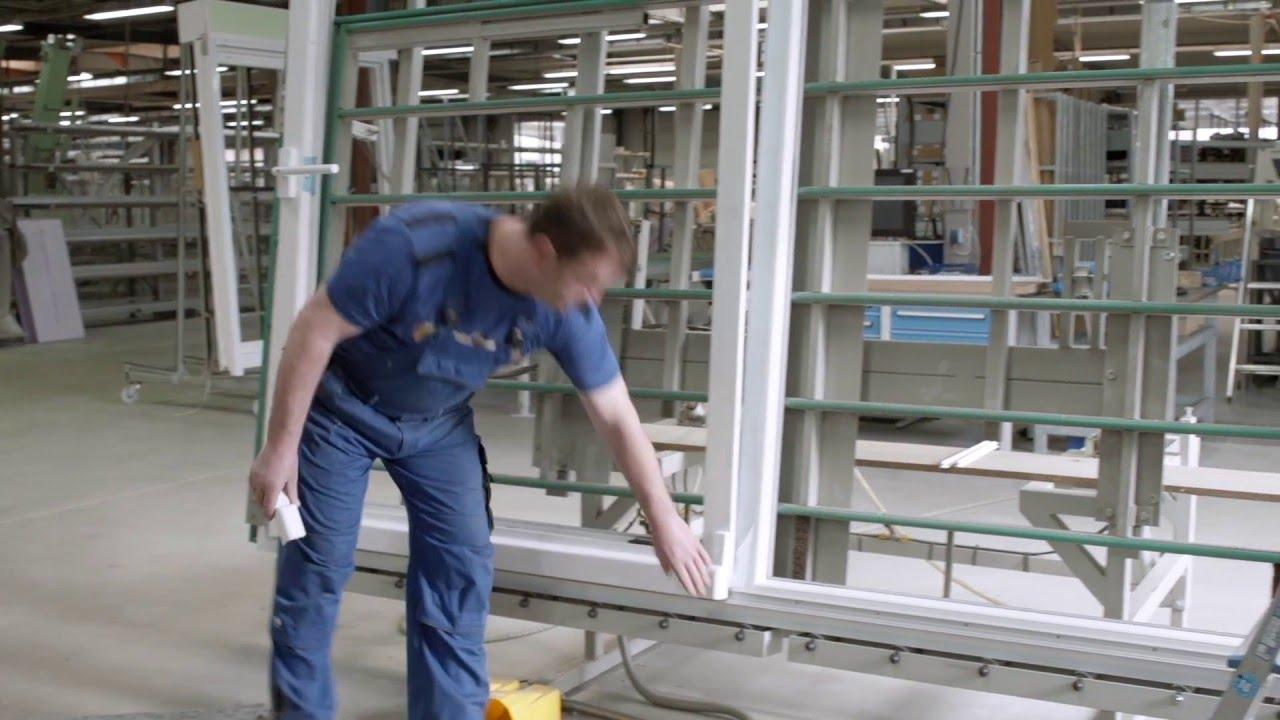 Top Brömse - Parallel-Schiebe-Kipp-Anlage (PKS) - Hebelbedienung - YouTube CO48