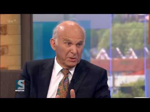 Vince Cable launches bid to be new LibDems leader