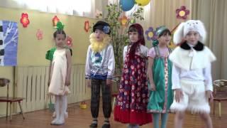 Сказка 'Репка на новый лад' подготовительная группа д/с 156 г. Владивосток 2013 г.