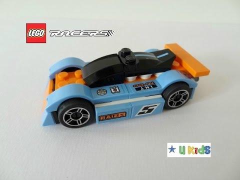 สอนต่อเลโก้รถแข่ง (วิดีโอรีวิวของเล่น เกมส์ต่อเลโก้)