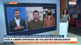 Suiça libera entrada de viajantes brasileiros