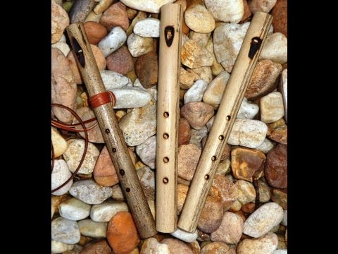 How to make a Cherokee 4 hole whistle