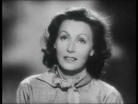Greta Garbo Screen Test (Cinematographer: Joseph Valentine, May 1949).