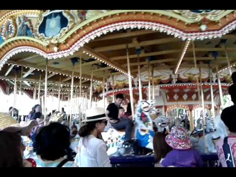 Charlotte On The Tokyo Disneyland Carousel Youtube