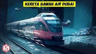 Dubai Ga ada Habisnya, Kereta Peluru Bawah Air dari Dubai Ke Mumbai INDIA Akan segera beroperasi