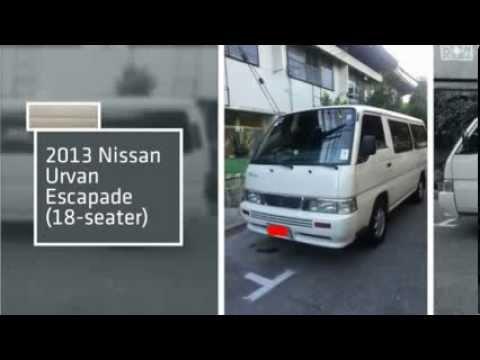 2013 Nissan Urvan Escapade A T 18 Seater Youtube