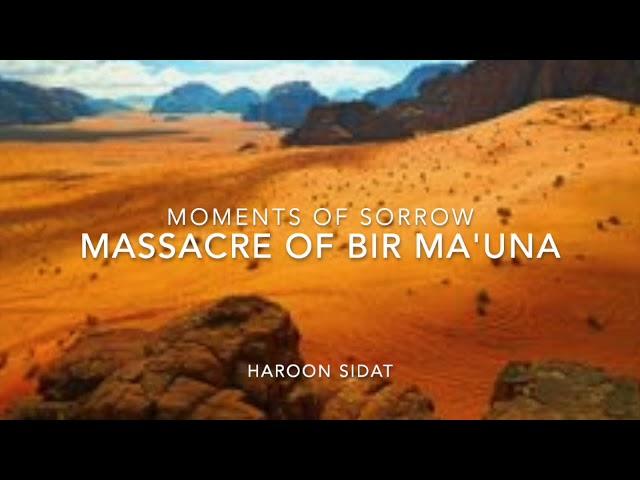 Massacre of Bir Ma'una