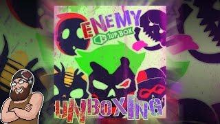 【UNBOXING】 1UP BOX - ENEMY - FEBRUARY - Epic Loot, Awesome Swag~♥