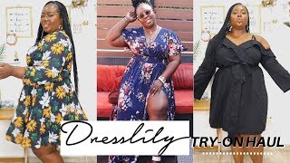 A SEXY PLUS SIZE HAUL ft Dresslily | Chantel Anyanwu