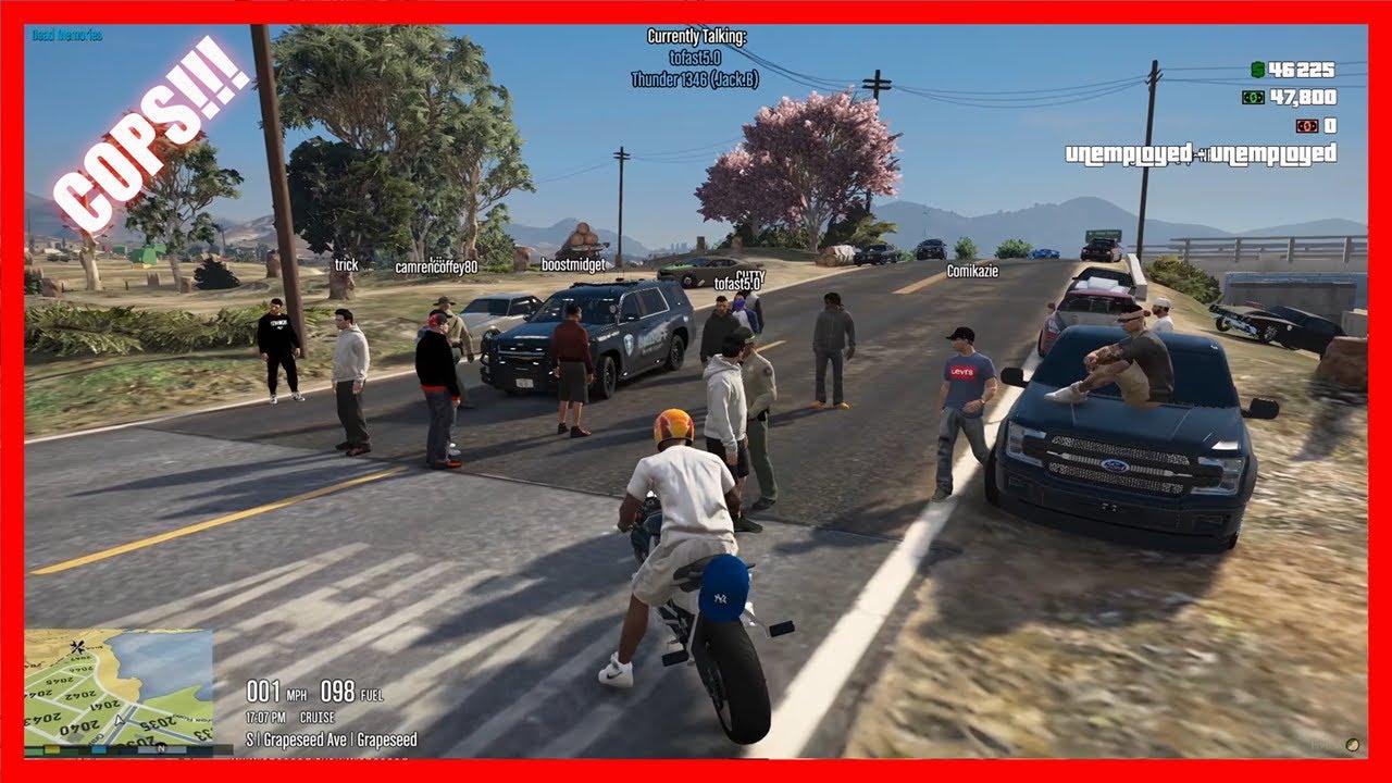 50,000 Dollar Cash Days Get Shutdown By Cops!! GTA-5-Roleplay