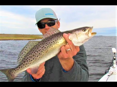 Speckle Trout, Storm Front On The Pamlico