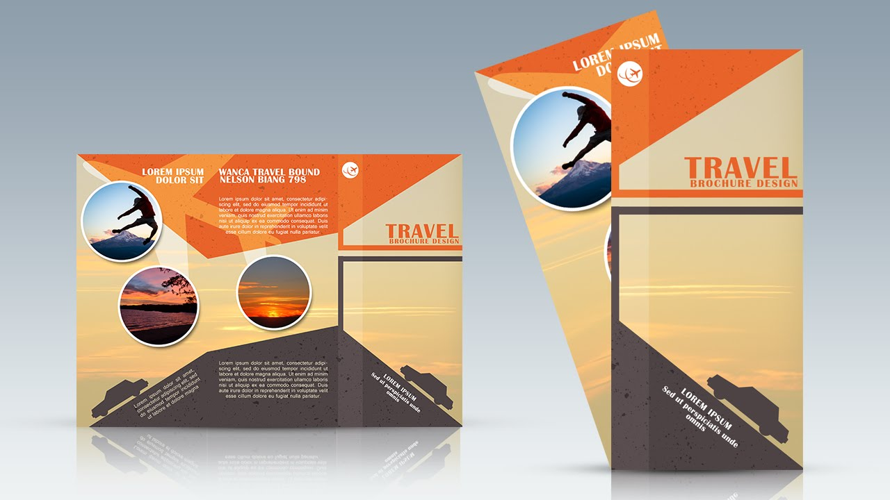 Photoshop Tutorial Trifold Travel Brochure Design   YouTube Photoshop Tutorial Trifold Travel Brochure Design