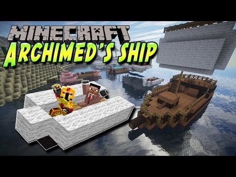 [FR]-Archimed's Ship : Présentation de mods-[Minecraft 1.7.2]