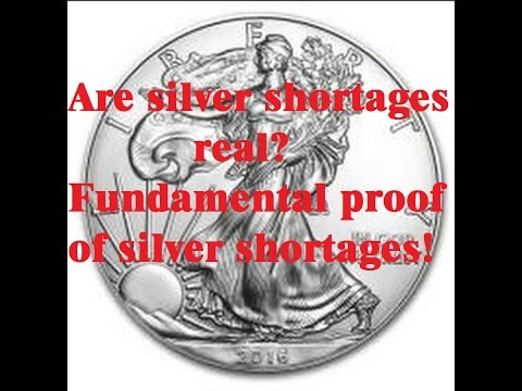 are silver shortages real? - silver shortages do exist!