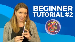 Beginner Irish Tin Whistle Lesson No.2 of 6: The Rattlin