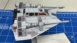 Building the Bandai 1/48  Star Wars Snowspeeder from The Empire Strikes Back