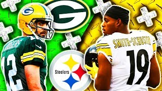 🁢 2018 🁢 PIT Steelers @ GB Packers 🁢 Preseason Week 2 🁢