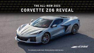 All-New 2023 Corvette Z06 Reveal