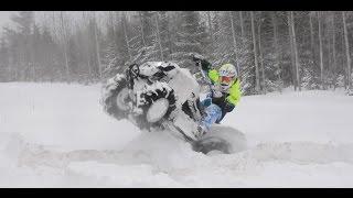 Can-am Renegade | CRAZY DEEP SNOW RIPN