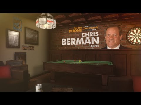 ESPN's Chris Berman Joins The Dan Patrick Show | Full Interview | 1/18/18