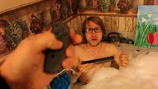 Psycho Dad Destroys Nintendo Switch