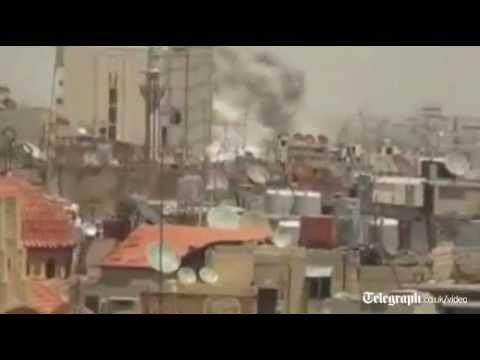William Hague: Syria on the brink of catastrophe