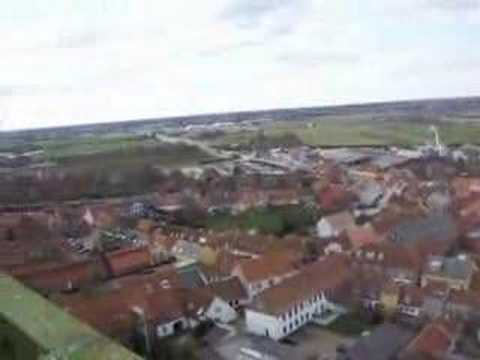 Ribe, Denmark- View from the Church Tower