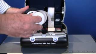 DYMO 450 Twin Turbo Lesson 7 - Changing Label Roll