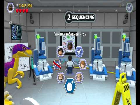 Лего Мир Юрского Периода.Динозавры на Прогулке.Игры мультики про Динозавров.Jurassic World.#Lego