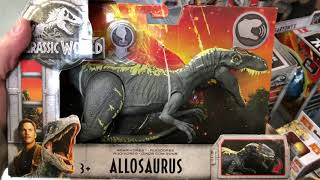 Mattel Jurassic World: Fallen Kingdom TOY HUNT!