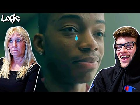 """MOM REACTS TO LOGIC - """"1-800-273-8255"""" OFFICIAL MUSIC VIDEO!!! **SHE CRIES**"""