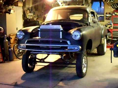 51 Chevy Coupe Gasser Youtube