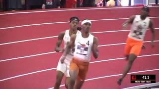 FRESHMAN Jonathan Jones 45.8 400m At Big 12 Championship