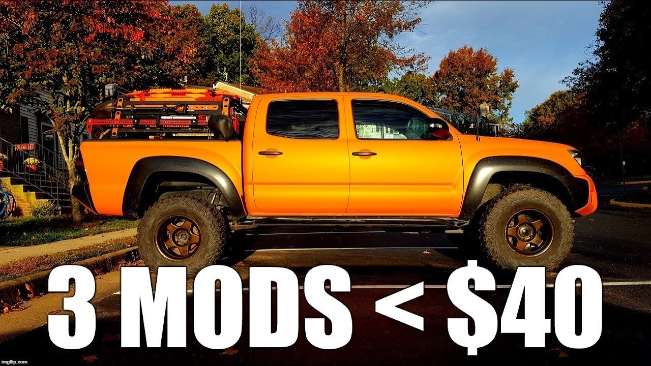 Toyota Tacoma Mods >> 3 Interior 3rd Gen Toyota Tacoma Storage Mods for $40 ...
