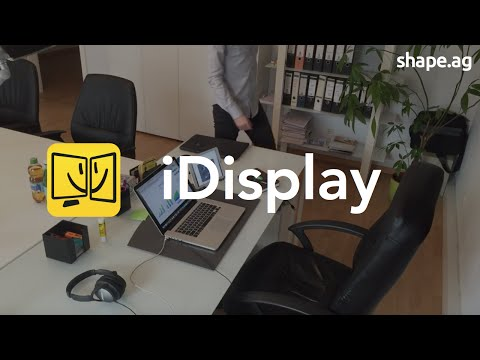 iDisplay: Turn your iPhone, iPad, iPad Mini or Android into external