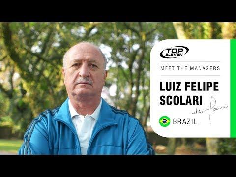 Meet The Managers #14 | Luiz Felipe Scolari from Brazil | Top Eleven