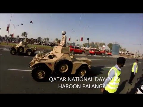 Qatar National day 2015 -parade and Fireworks