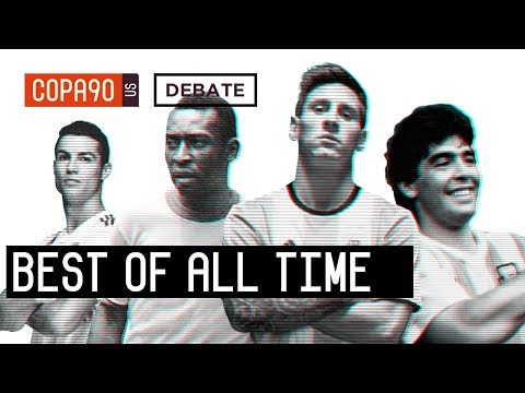 Messi, Pele, Ronaldo or Maradona - Who is The Best of All Time? | COPA Debate