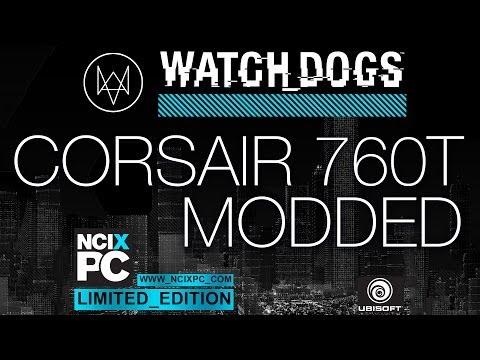 Custom Watch_Dogs NCIXPC Inter_ference ft. Corsair Graphite 760T
