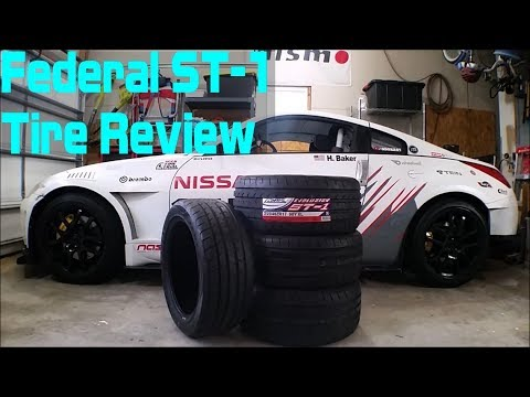 federal st 1 evoluzion tire review youtube. Black Bedroom Furniture Sets. Home Design Ideas