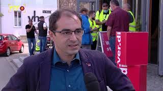 Urabstimmung - Belegschaft der Busbetriebe stimmte heute über weitere Streikmaßnahmen ab