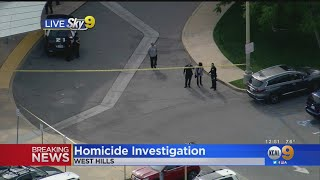 Man Found Shot To Death Outside West Hills Medical Center