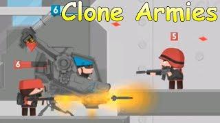 Clone Armies REAPER! Война! Игра на подобии Клеш рояль!