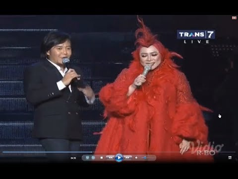 JIKA - Ari lasso feat melly goeslow  Misteri illahi KONSER 25 th ari lasso