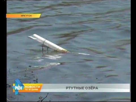 Десятки ртутных ламп неизвестные выбросили на берег Покровских карьеров в Иркутске