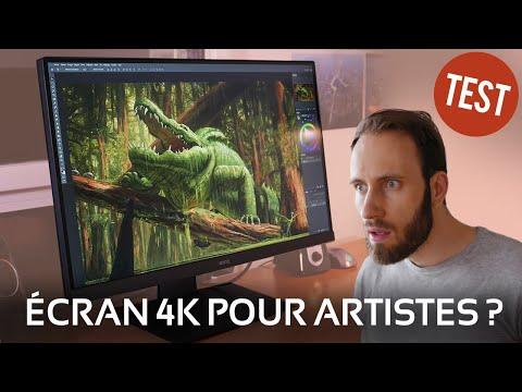 Un écran 4K Conçu Pour Les ARTISTES ? VERDICT ! Test Du BenQ PD2700U
